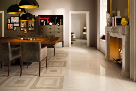 Italon Travertino Floor Project