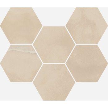 Charme Evo Onyx Mosaico Hexagon 25x29