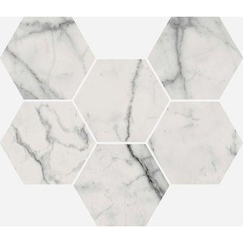 Charme Evo Statuario Mosaico 25x29