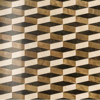 Charme Floor Cream Inserto Optic Lux Rettificato 59x59