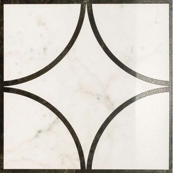 Charme Floor Pearl Inserto Loop Lappato 60x60
