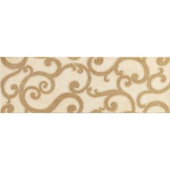 Charme Wall Cream Inserto Jasmine 25x75
