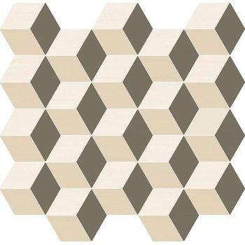 Element Silk Mosaico Cube Warm 30.5x33