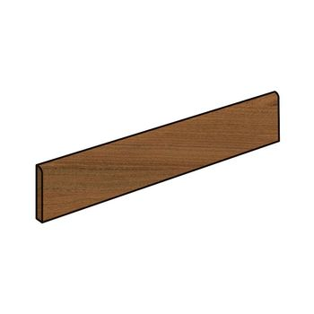 Element Wood Mogano Battiscopa 7.2x60