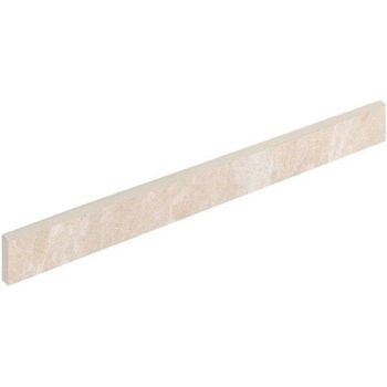Elite Floor White Battiscopa 7.2x60