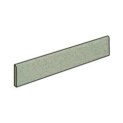 Basic Cromo Bullnose Battiscopa Naturale 7.2x30