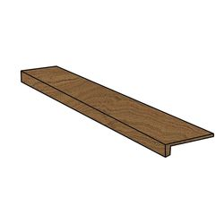Element Wood Mogano Scalino Frontale 33x120
