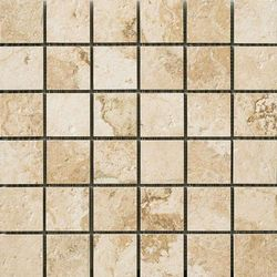 Natural Life Stone Almond Mosaico Patinated 30x30