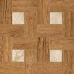 Natural Life Wood Honey Inserto Glamour Naturale Mat 45x45