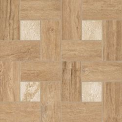 Natural Life Wood Olive Inserto Glamour Naturale Mat 45x45