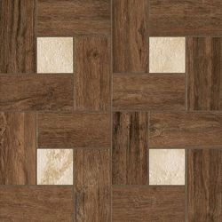 Natural Life Wood Pepper Inserto Glamour Naturale Mat 45x45