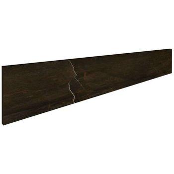 Charme Floor Black Battiscopa 7.2x60
