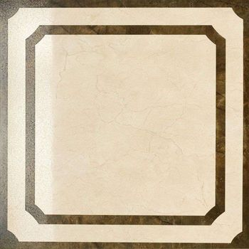 Charme Floor Cream Inserto Frame Lappato 60x60