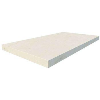 Charme Floor Cream Scalino Angolare Sinistro 33x60