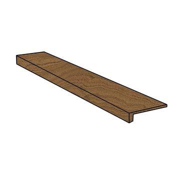 Element Wood Mogano Scalino Frontale 33x120