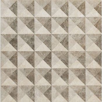 Elite Floor Grey Inserto Illusion 59x59