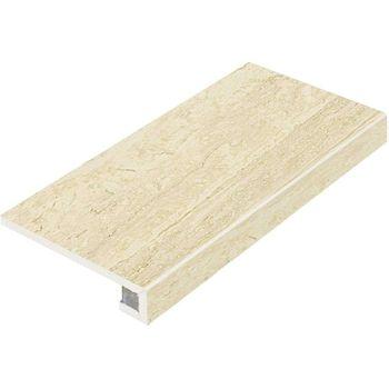 Travertino Floor Navona Scalino Frontale 33x60