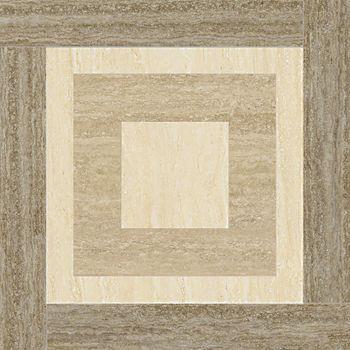 Travertino Floor Silver Inserto Night Lux 59x59