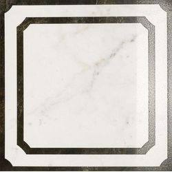 Charme Floor Pearl Inserto Frame Lappato 60x60
